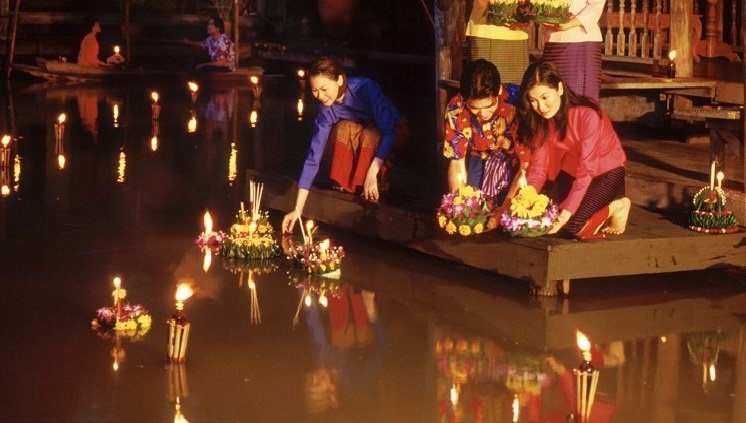 Festival das Luzes - Tailândia
